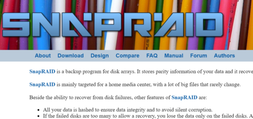 Setting Up SnapRAID On Ubuntu To Create A Flexible Home Media Fileserver
