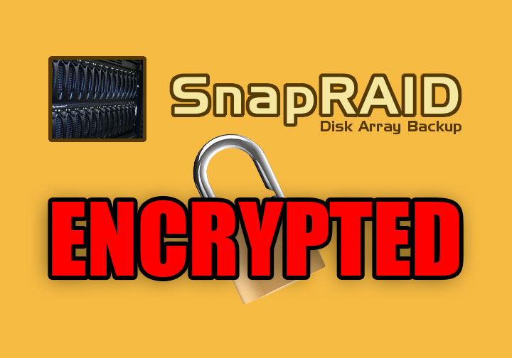 Encrypted SnapRAID | Zack Reed - Design and Coding